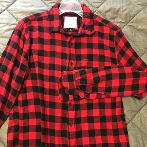 Red Buffalo Check Flannel